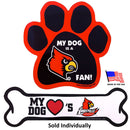 Louisville Cardinals Car Magnets - National Fur League