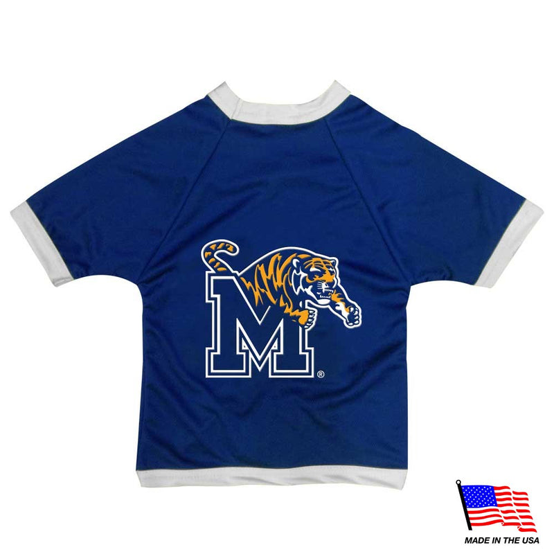 Memphis Tigers Athletic Mesh Pet Jersey - National Fur League