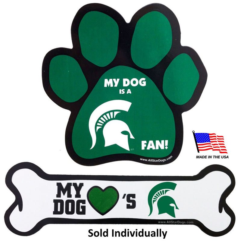 Michigan State Spartans Car Magnets - National Fur League
