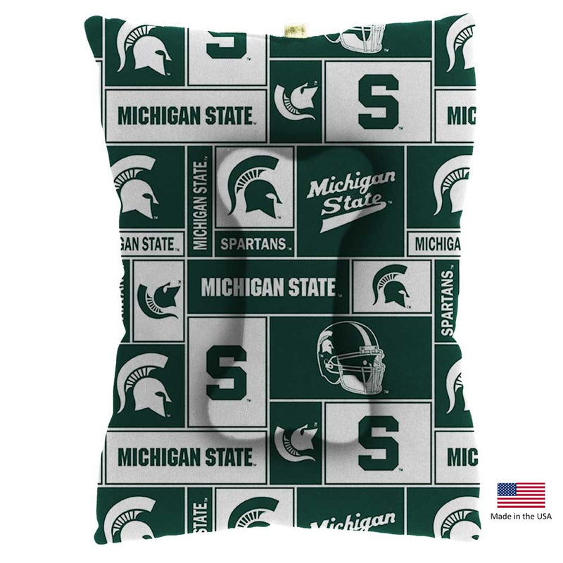 Michigan State Spartans Pet Slumber Bed - National Fur League