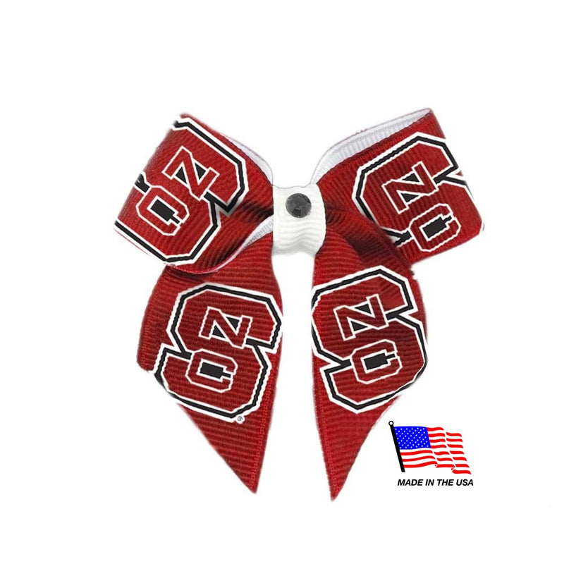 Nc State Wolfpack Pet Hair Bow - National Fur League