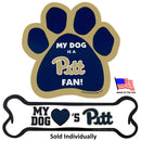 Pittsburgh Panthers Car Magnets - National Fur League