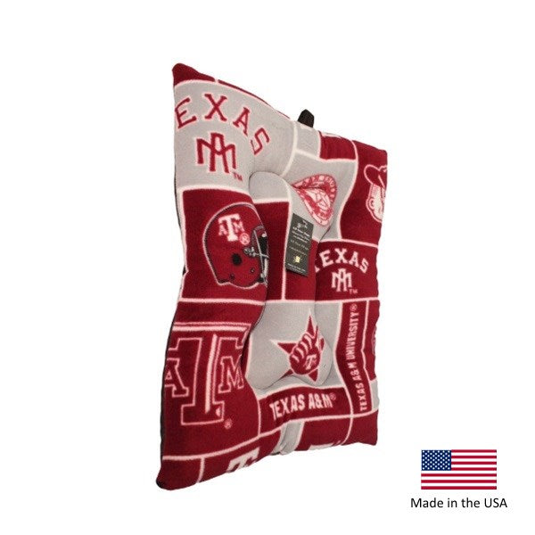 Texas A&m Aggies Pet Slumber Bed - National Fur League