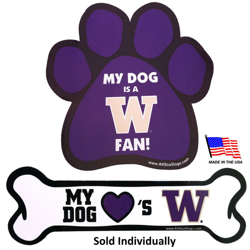 Washington Huskies Car Magnets - National Fur League