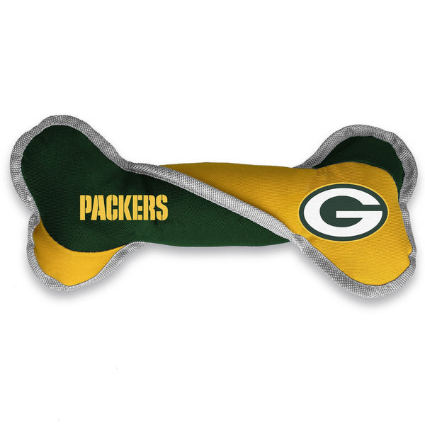 Green Bay Packers Pet Tug Bone - National Fur League