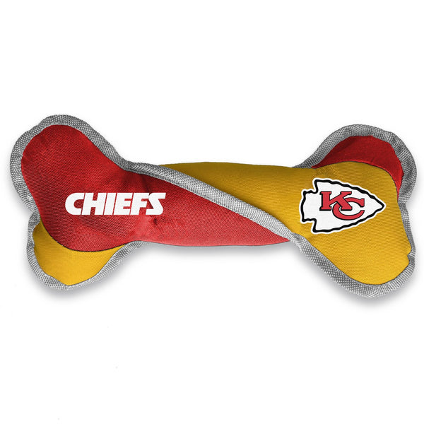 Kansas City Chiefs Pet Tug Bone - National Fur League