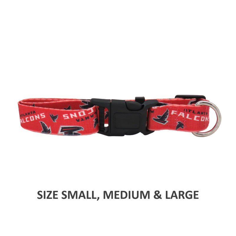 Atlanta Falcons Pet Nylon Collar - National Fur League