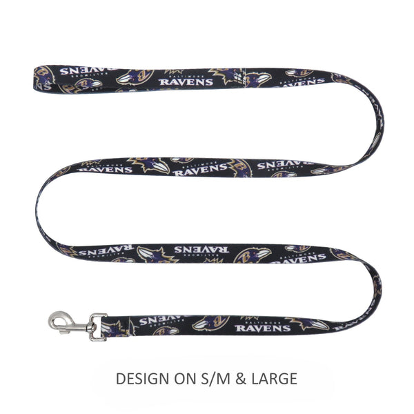 Baltimore Ravens Pet Nylon Leash - National Fur League