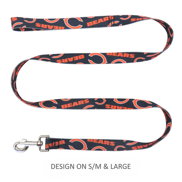 Chicago Bears Pet Nylon Leash - National Fur League