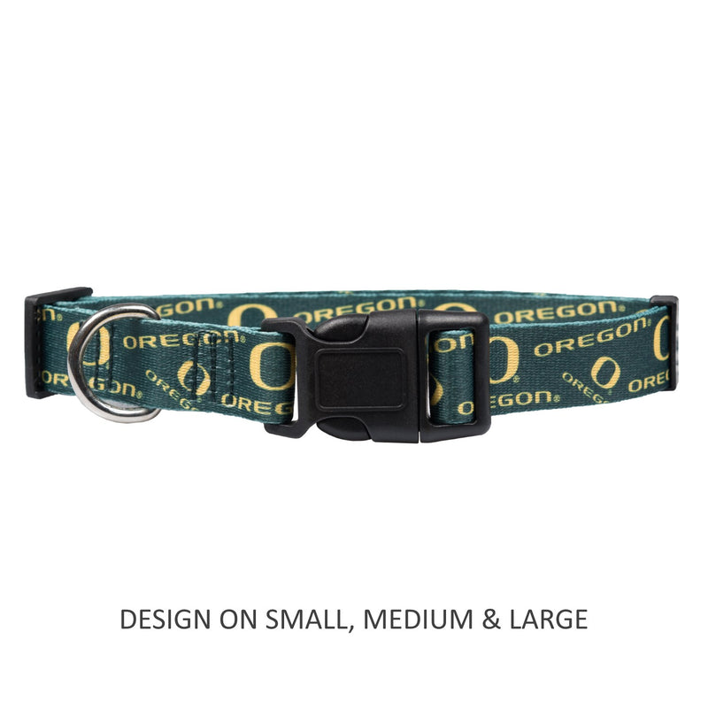 Oregon Ducks Pet Nylon Collar - National Fur League