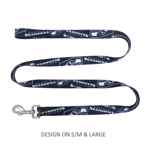Seattle Seahawks Pet Nylon Leash - National Fur League