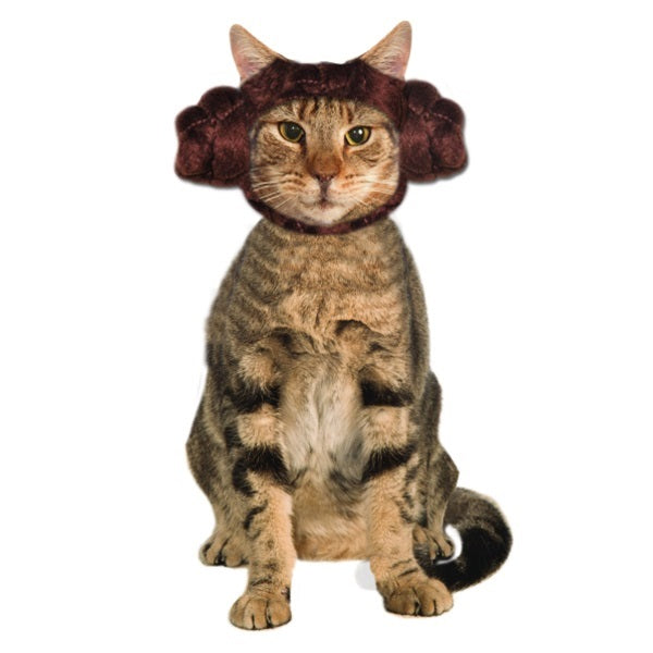 Star Wars Princess Leia Cat Headpiece - National Fur League