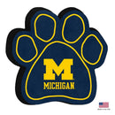 Michigan Wolverines Paw Squeak Toy - National Fur League