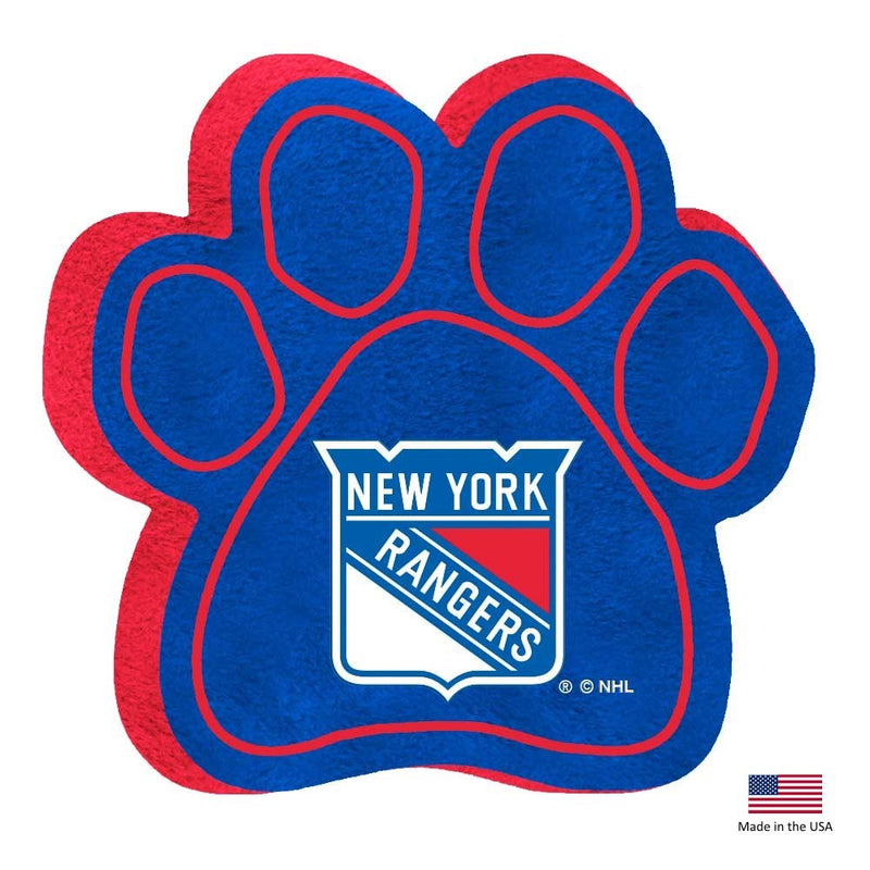New York Rangers Paw Squeak Toy - National Fur League