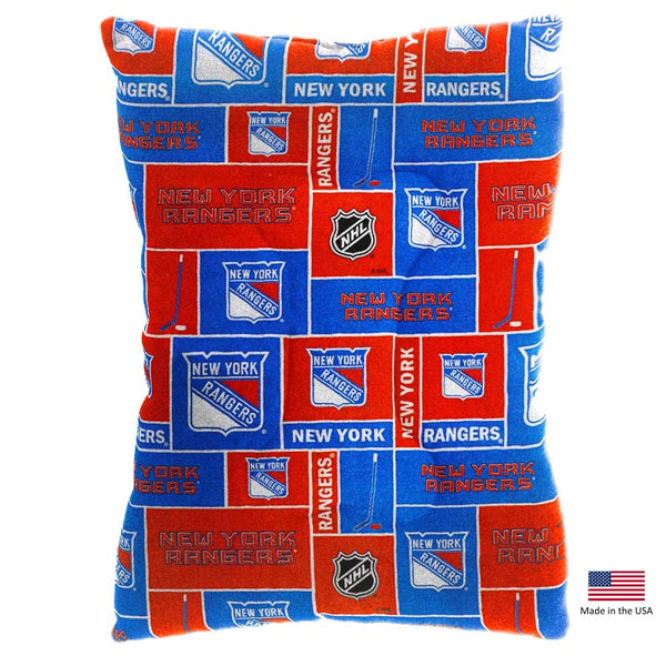 New York Rangers Pet Slumber Bed - National Fur League