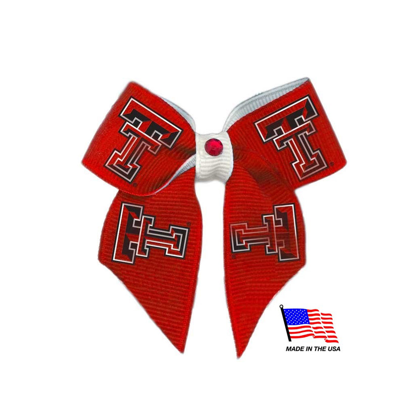 Texas Tech Red Raiders Pet Hair Bow - National Fur League