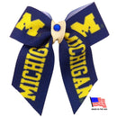 Michigan Wolverines Pet Hair Bow - National Fur League