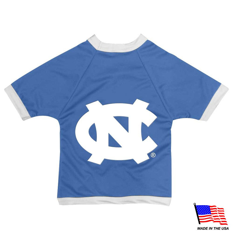 North Carolina Tarheels Athletic Mesh Pet Jersey - National Fur League