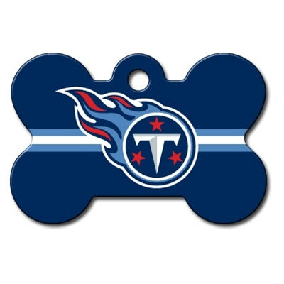 Tennessee Titans Bone Id Tag - National Fur League