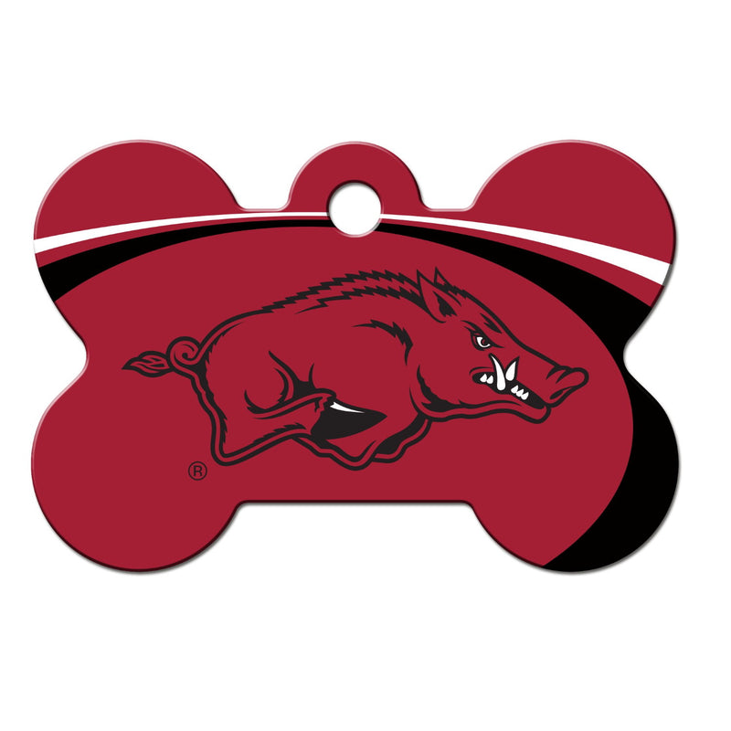 Arkansas Razorbacks Bone Id Tag - National Fur League
