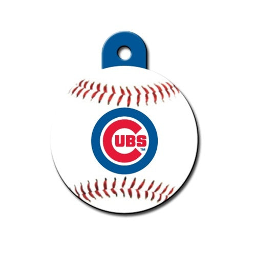 Chicago Cubs Circle Id Tag - National Fur League