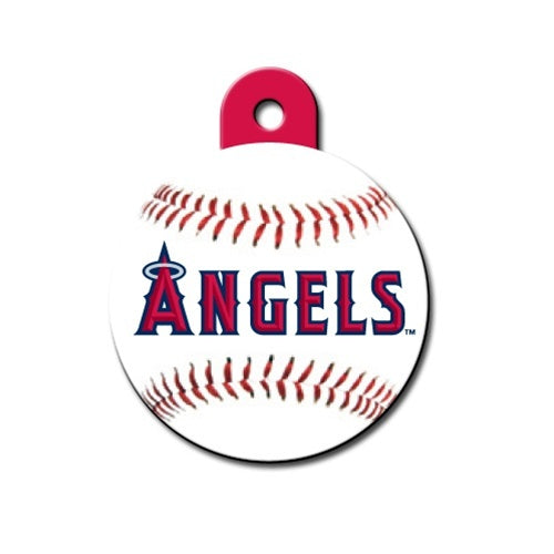 Los Angeles Angels Circle Id Tag - National Fur League