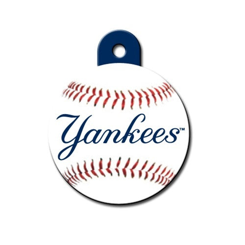 New York Yankees Circle Id Tag - National Fur League