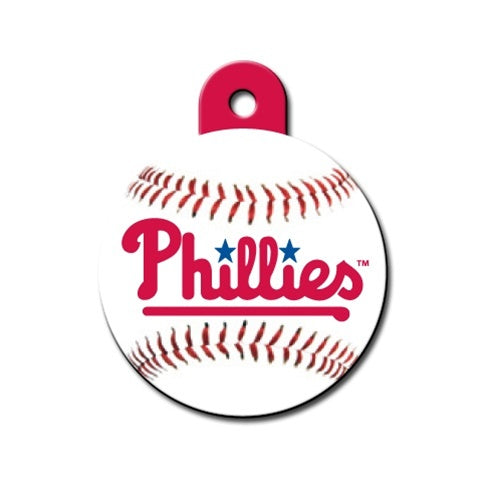 Philadelphia Phillies Circle Id Tag - National Fur League