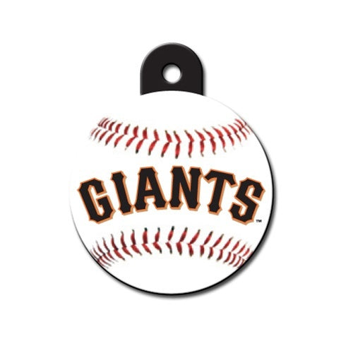 San Francisco Giants Circle Id Tag - National Fur League