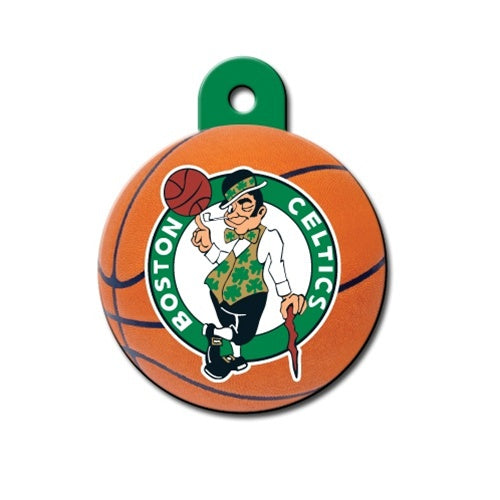 Boston Celtics Circle Id Tag - National Fur League