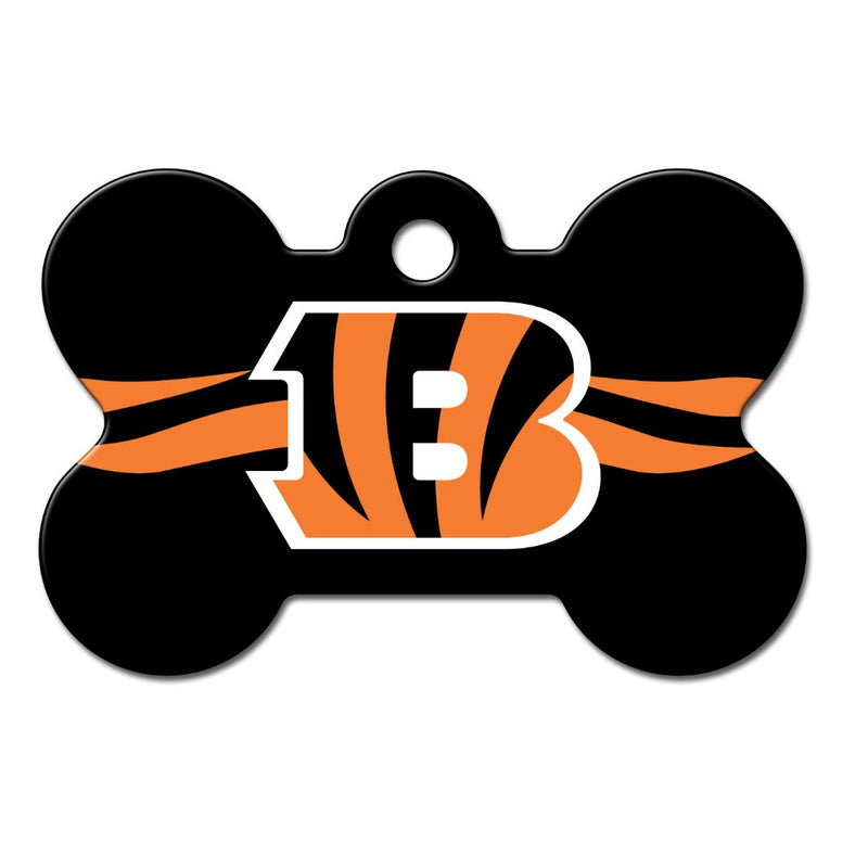 Cincinnati Bengals Bone Id Tag - National Fur League