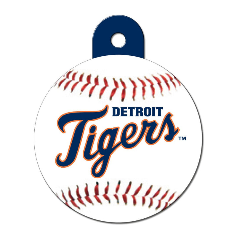Detroit Tigers Circle Id Tag - National Fur League