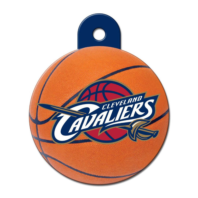 Cleveland Cavaliers Circle Id Tag - National Fur League