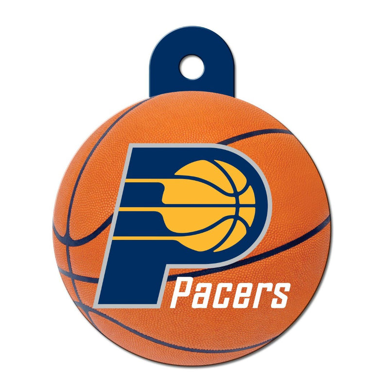 Indiana Pacers Circle Id Tag - National Fur League