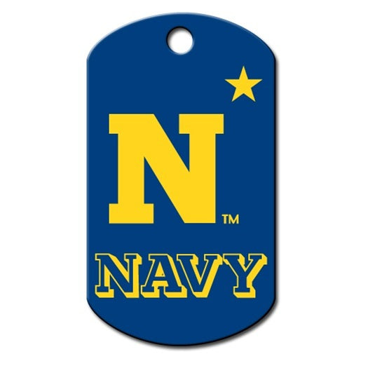 Navy Midshipmen Military Id Tag - National Fur League