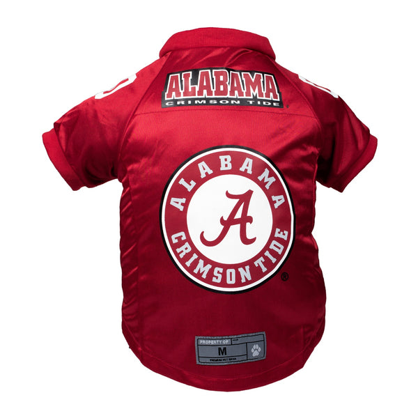 Alabama Crimson Tide Pet Premium Jersey - National Fur League