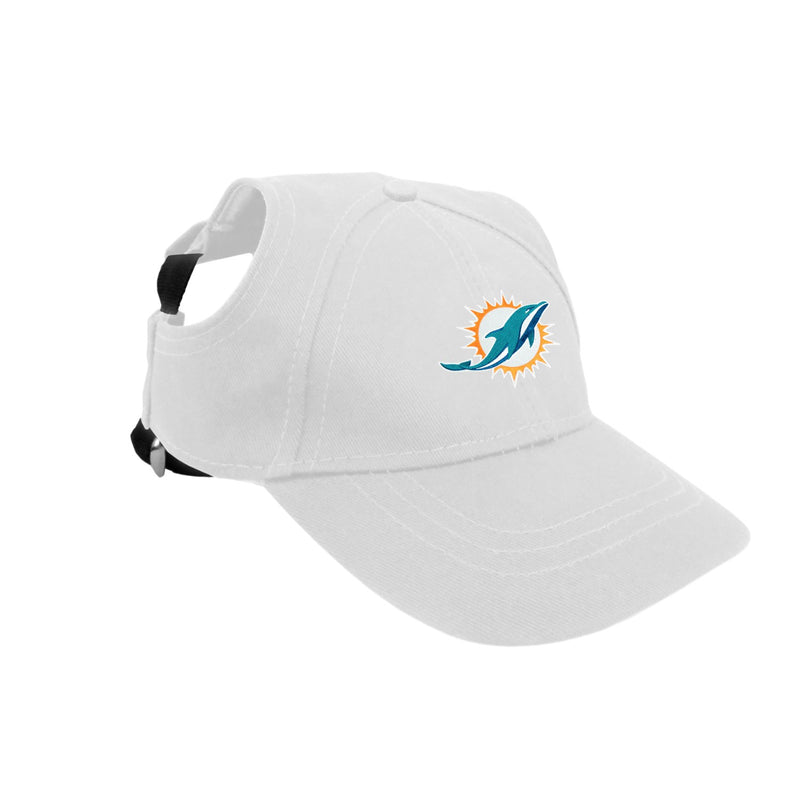 Miami Dolphins Pet Baseball Hat - National Fur League