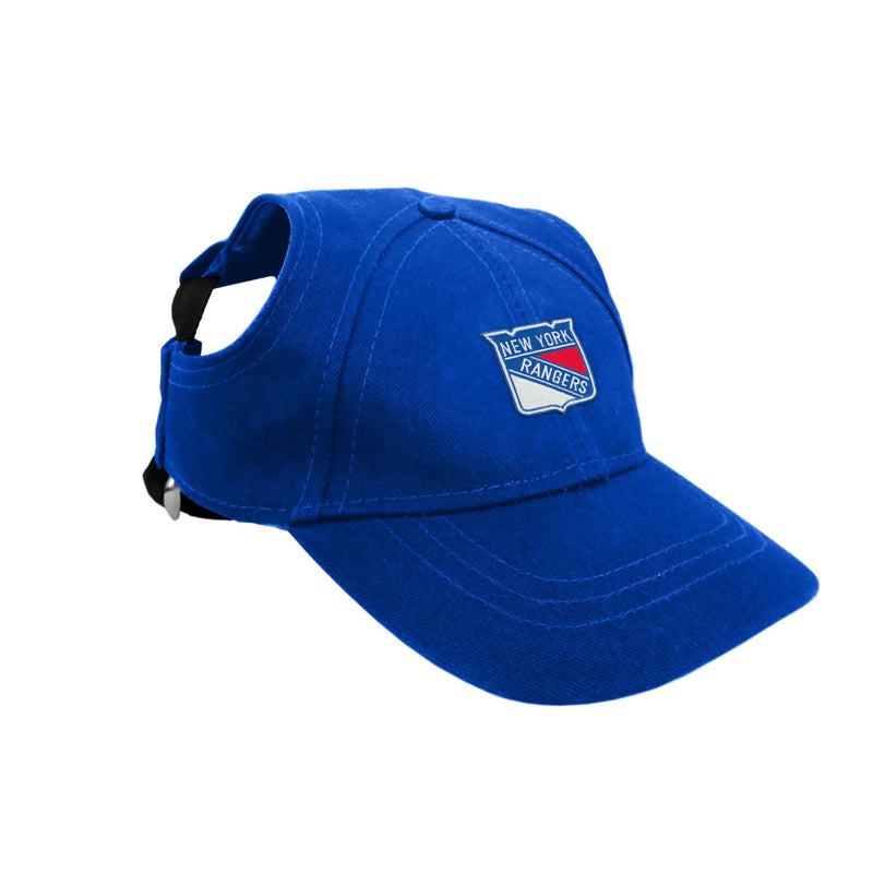 New York Rangers Pet Baseball Hat - National Fur League