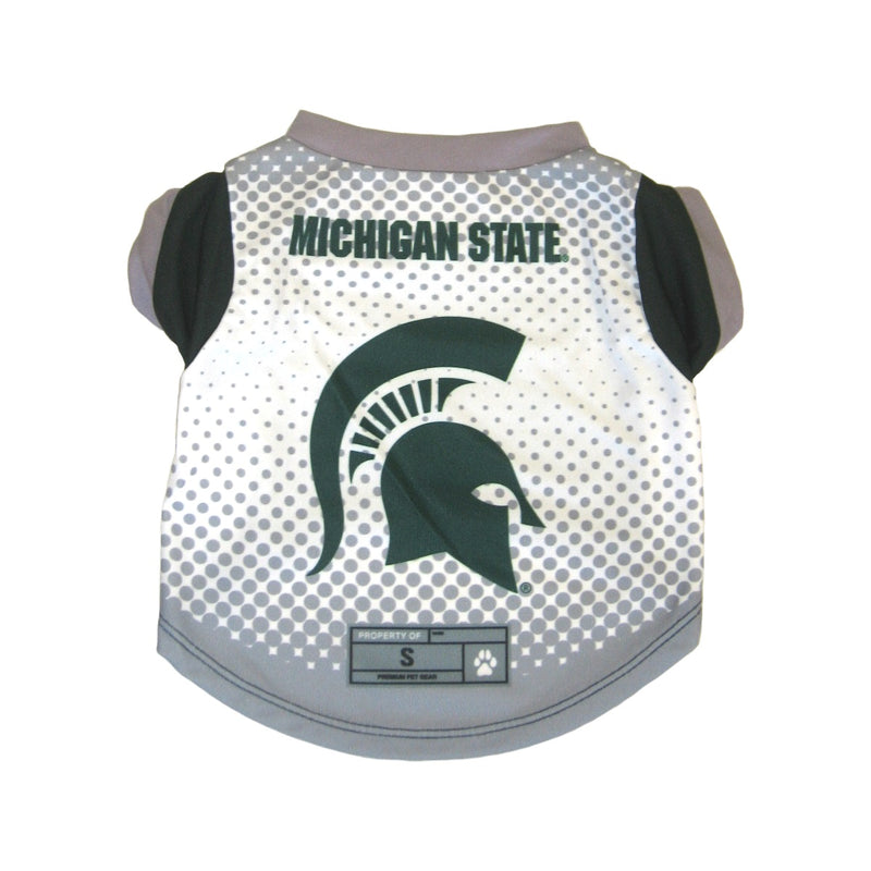 Michigan State Spartans Pet Performance Tee - National Fur League