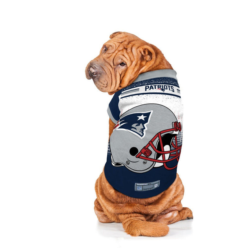 New England Patriots Pet Performance Tee - National Fur League