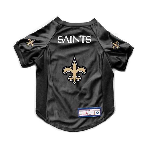 New Orleans Saints Pet Stretch Jersey - National Fur League