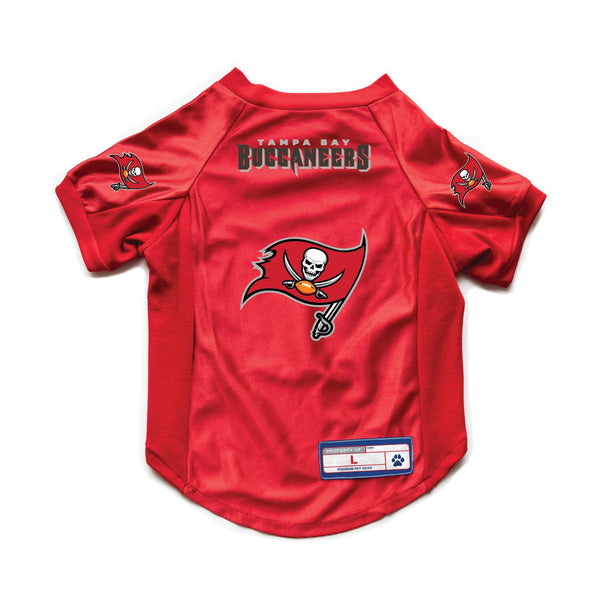 Tampa Bay Buccaneers Pet Stretch Jersey - National Fur League