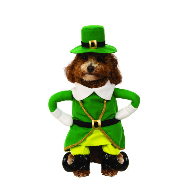 Walking Leprechaun Pet Costume - National Fur League