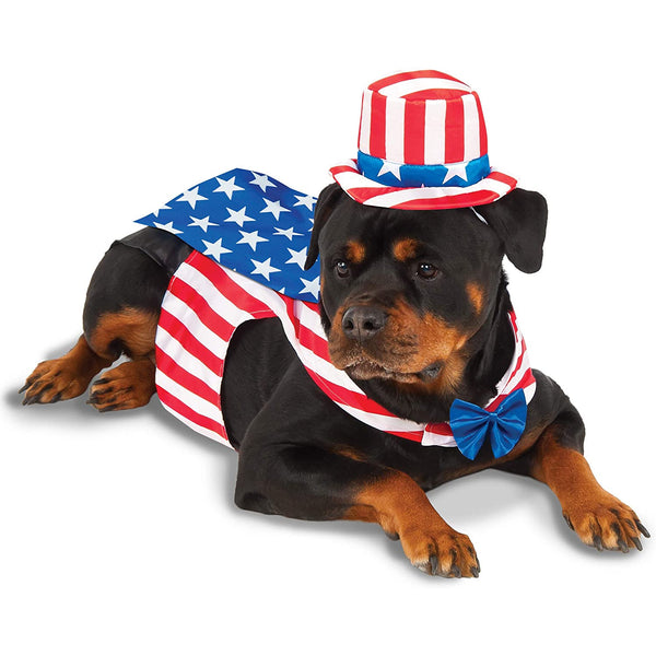 Big Dogs Uncle Sam Pet Costume - National Fur League