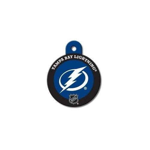 Tampa Bay Lightning Large Circle Id Tag - National Fur League