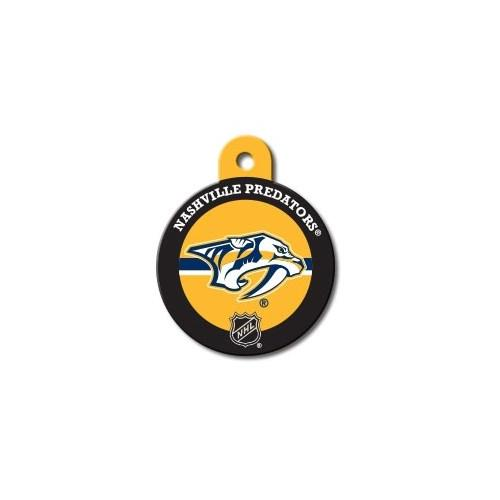 Nashville Predators Large Circle Id Tag - National Fur League