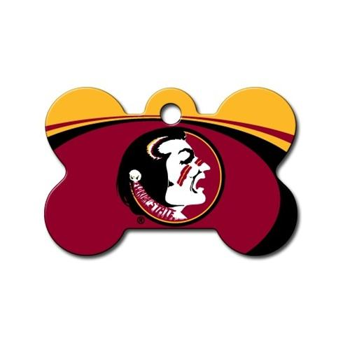 Florida State Seminoles Bone Id Tag - National Fur League