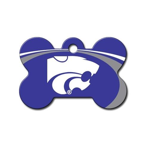 Kansas State Wildcats Bone Id Tag - National Fur League
