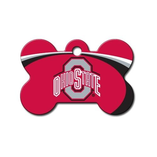 Ohio State Buckeyes Bone Id Tag - National Fur League