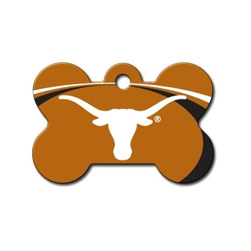 Texas Longhorns Bone Id Tag - National Fur League